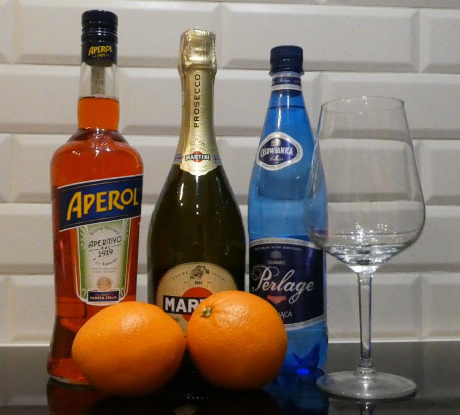 Aperol Spritz składniki