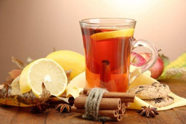 Herbata ze spirytusem