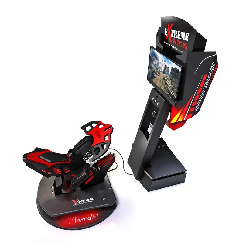 X-Bike - Simulator of extreme VR motorcycle races