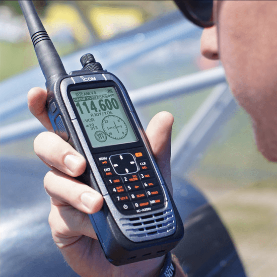 IC-A25NE RADIO AVIATION MAROC