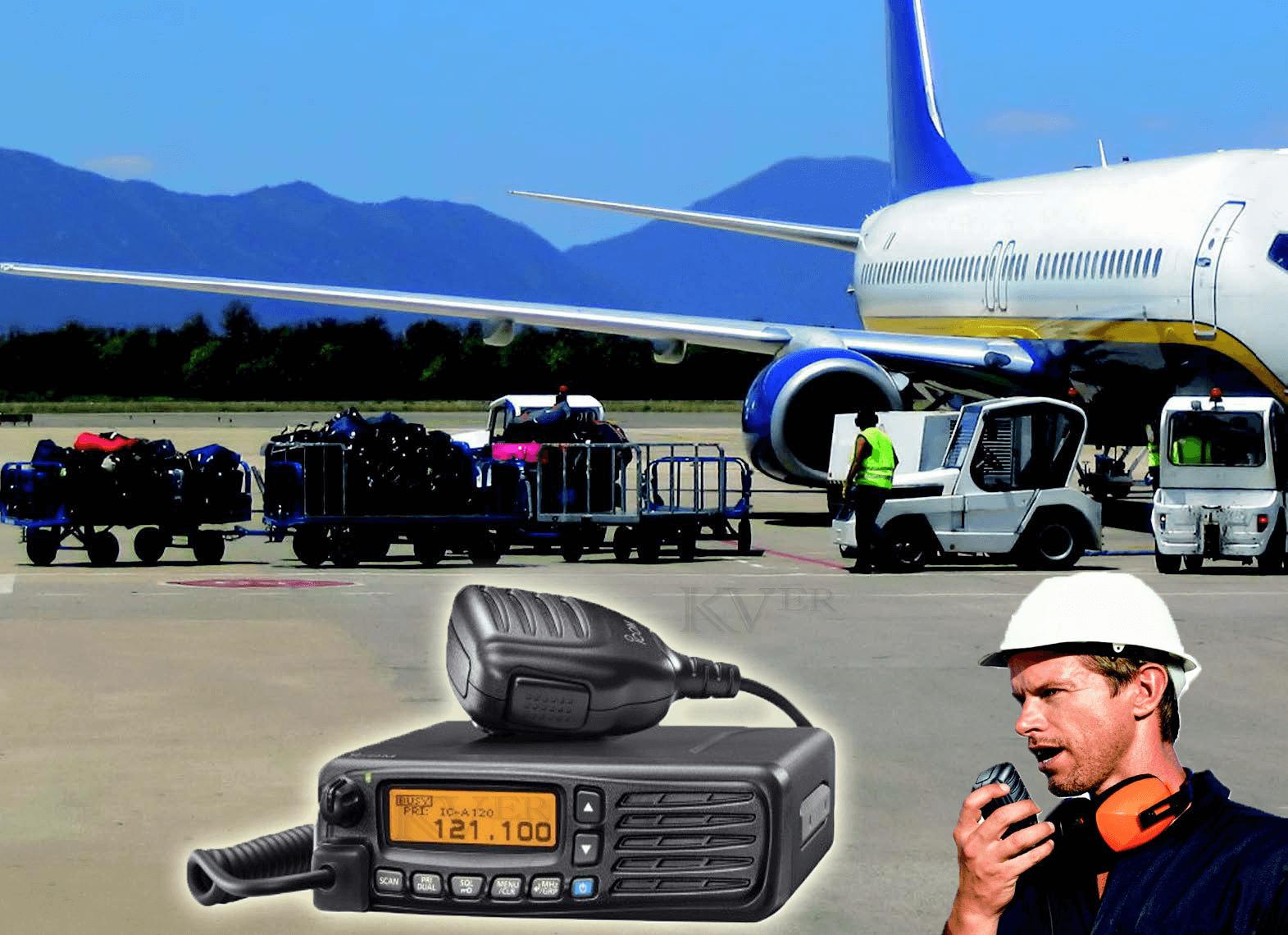 Radio ICOM IC-A120-Aeroport-Maroc