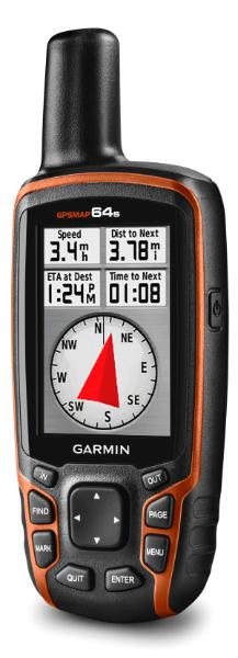 écran du compas GPSMAP 64s