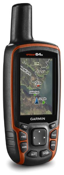 écran de carte GPSMAP64s