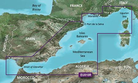 VEU010R Mediterranean Sea, Genova-Ayamonte G2vision