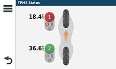 GPS MOTO GARMIN PRESSION PNEUS