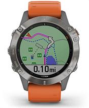 fēnix 6 Pro et fēnix 6 Sapphire avec écran de navigation