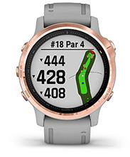 fēnix6S Pro et fēnix6S Sapphire avec affichage de parcours de golf