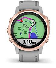 fēnix6S Pro et fēnix6S Sapphire avec écran de navigation