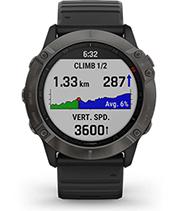 fēnix6X Pro Solar avec écran ClimbPro