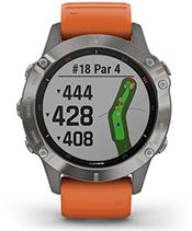 fēnix 6 Pro et fēnix 6 Sapphire avec affichage de parcours de golf