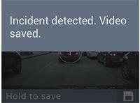 Camera GARMIN Maroc DASH CAM 55 Incident detecte