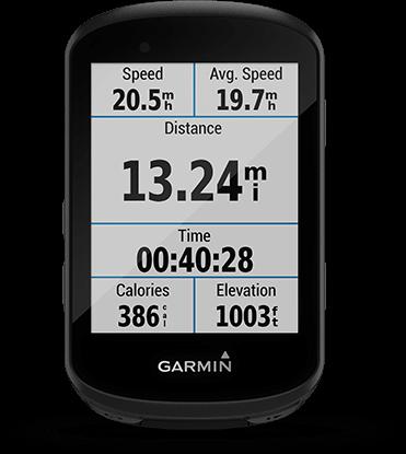 Edge 530 avec écran Garmin Connect