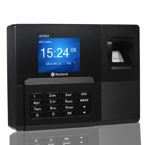 Le terminal de pointage à empreinte digitale à écran couleur référence A-F031