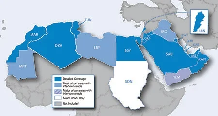 CITY NAVIGATOR MIDDLE EAST & NORTHERN AFRICA NT