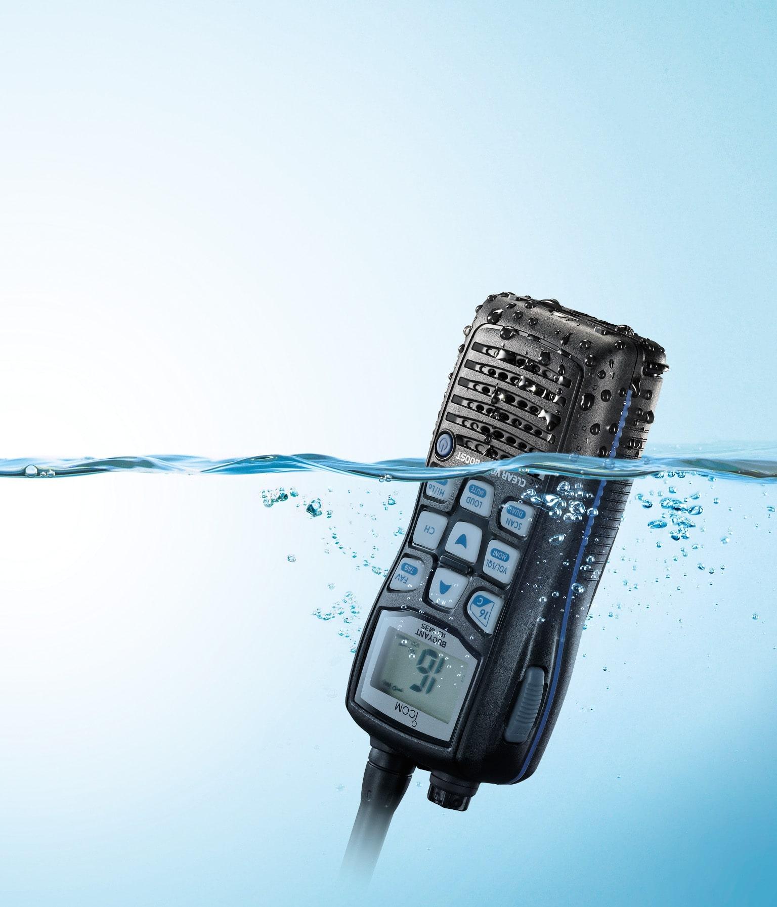 Talkie walkie ICOM IC-M35 : radio marine Maroc