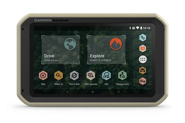GPS GARMIN Overlander spécial 4X4