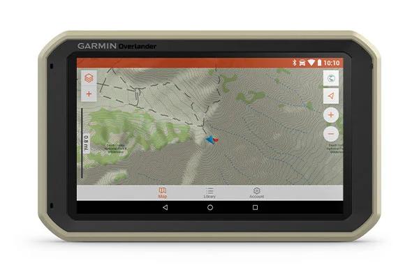 GPS GARMIN Overlander prise en charge