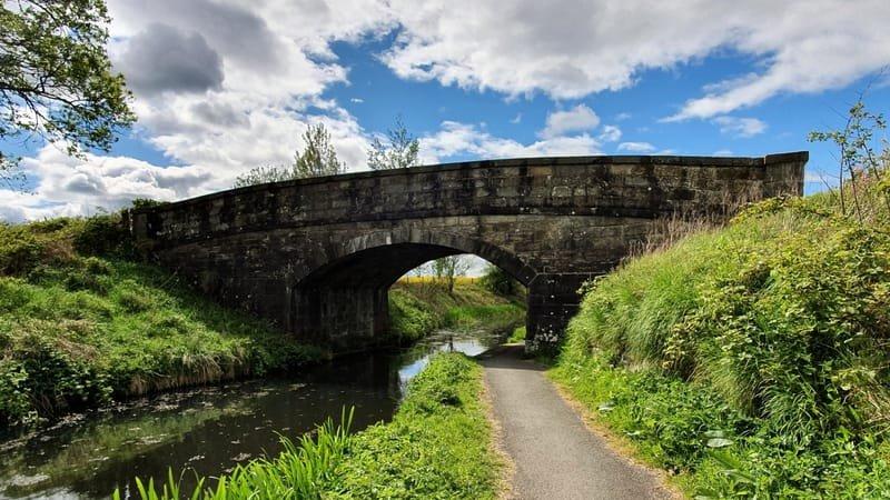 Bridges 19-40 on the Union Canal
