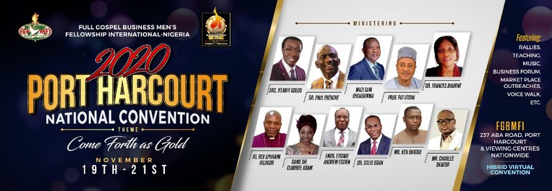 2020 Port Harcourt National Convention-Hybrid (Virtual & Physical). www.fgbmficonventions.com