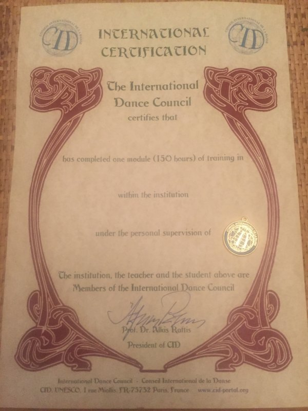 Classical dance 3 years certificated course for children   8 -11 12-14 yr old