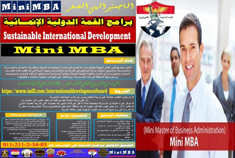 Sustainable International Development _ Mini MBA