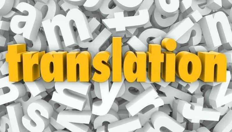 TRADUCTION Tri-lingue