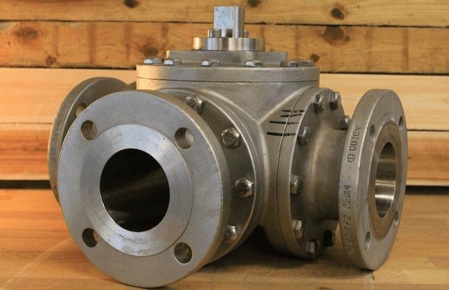 flanged valve