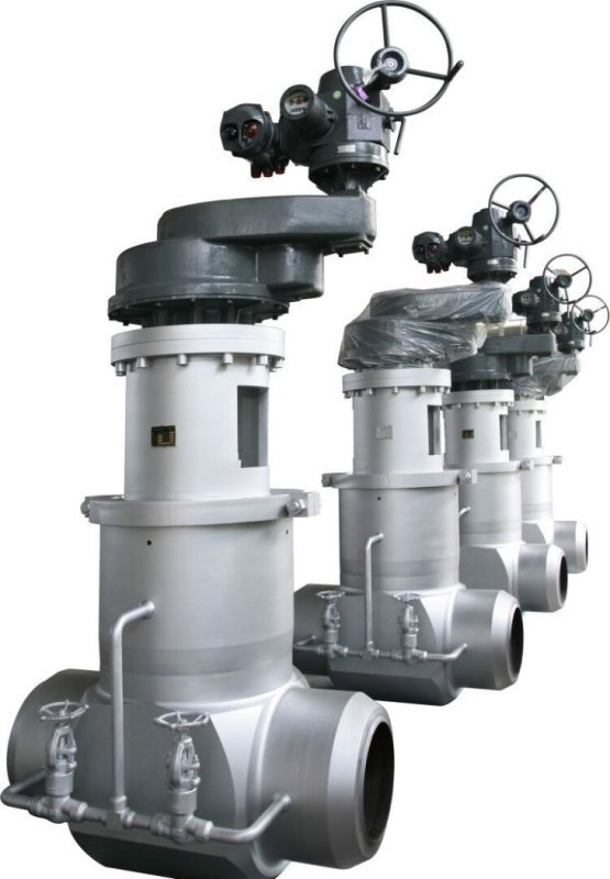 FCT Super High Temperature Power Station Valve