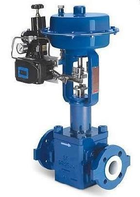 FCT PTFE Lined Globe Control Valve