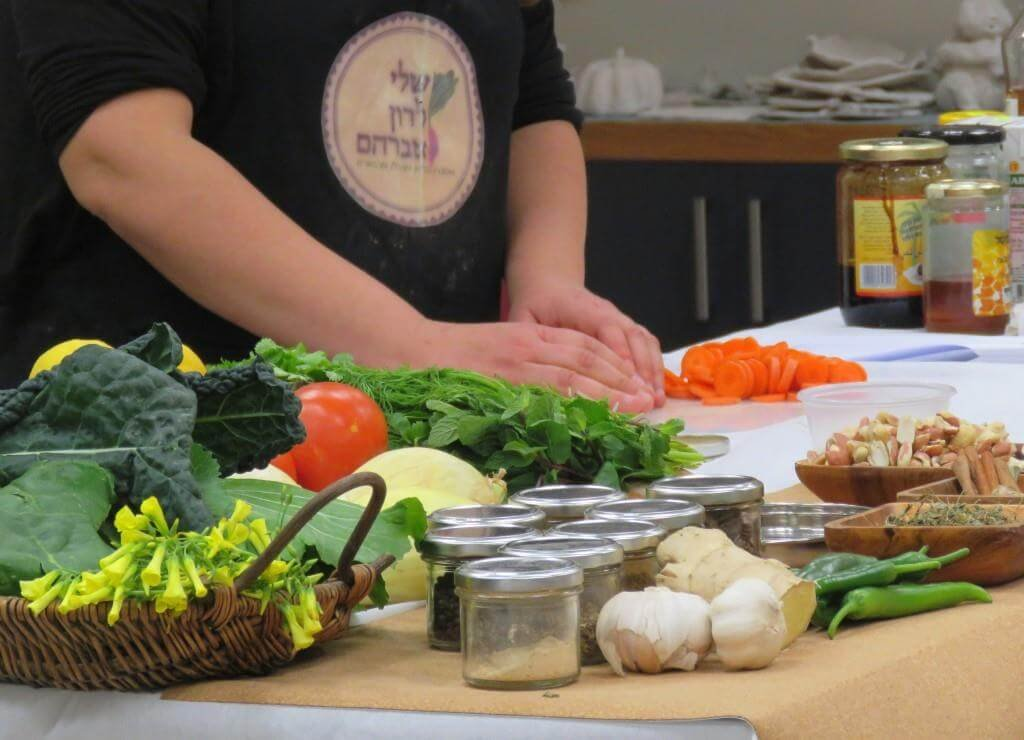 שלי לרון אברהם, סדנאות בישול בריא, בישול טבעוני, בישול צמחוני, סדנאות בישול לארגונים ולמקומות העבודה