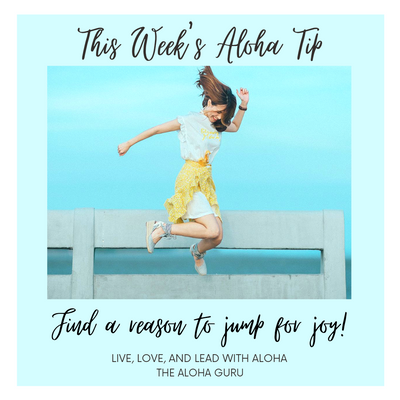 This Week's Aloha Tip