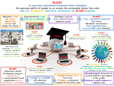 EL4DEV Information System - The educational Big Smart Data of the program