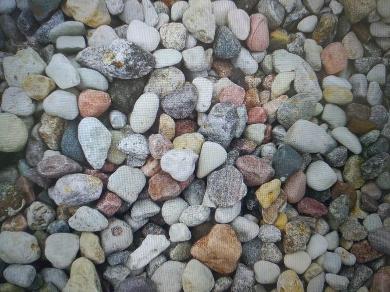 Kamień płukany