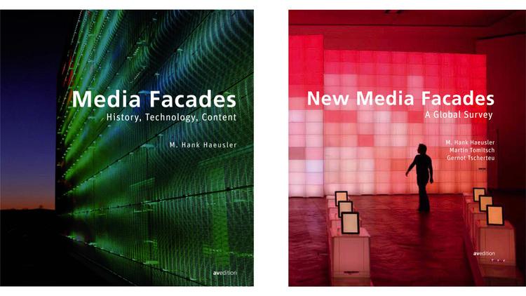 Fachadas de mídia / Matthias Hank Haeusler.  Imagem via Amazon