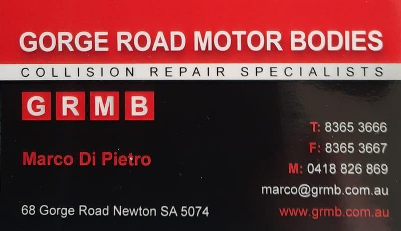 Gorge Road Motor Bodies