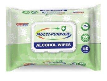 Multi-Purpose Alcohol Wipes | 50 pc. Pack
