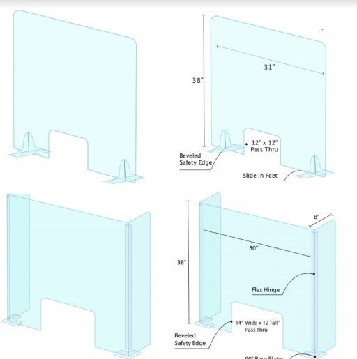 Protection Shields/Barriers