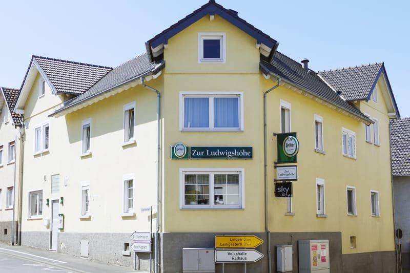 "Vereinslokal ""Zur Ludwigshöhe"""