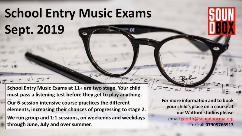 11+ Music Aptitude Test
