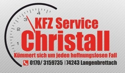 KFZ -Servicechristall