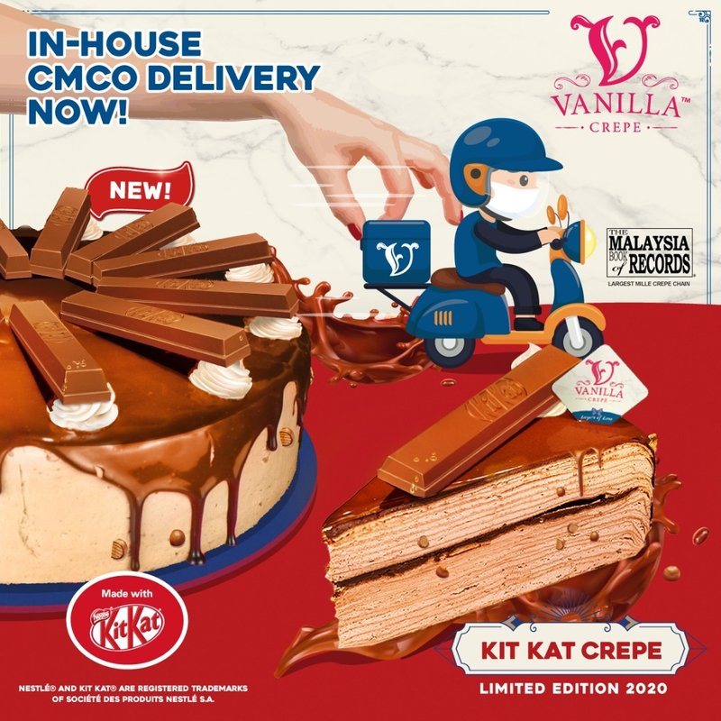 KIT KAT CREPE by Vanilla Crepe x Nestle