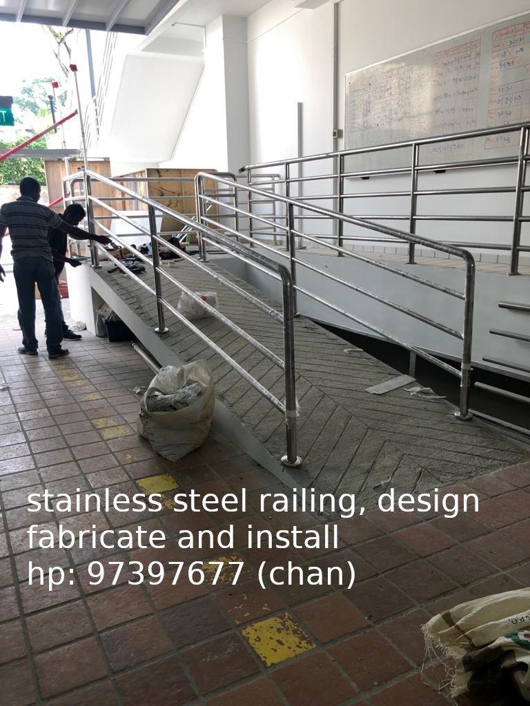 stainless steel railing