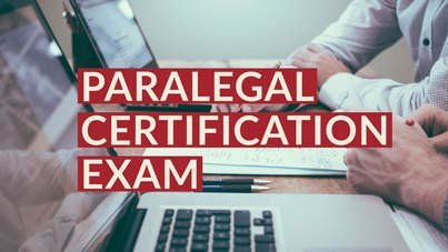 Paralegal certification exam