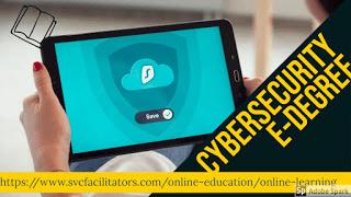 Image describing cybersecurity e-degree