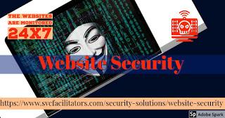 Image describing website security services