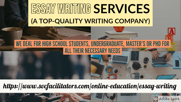 Image describing essay writing services