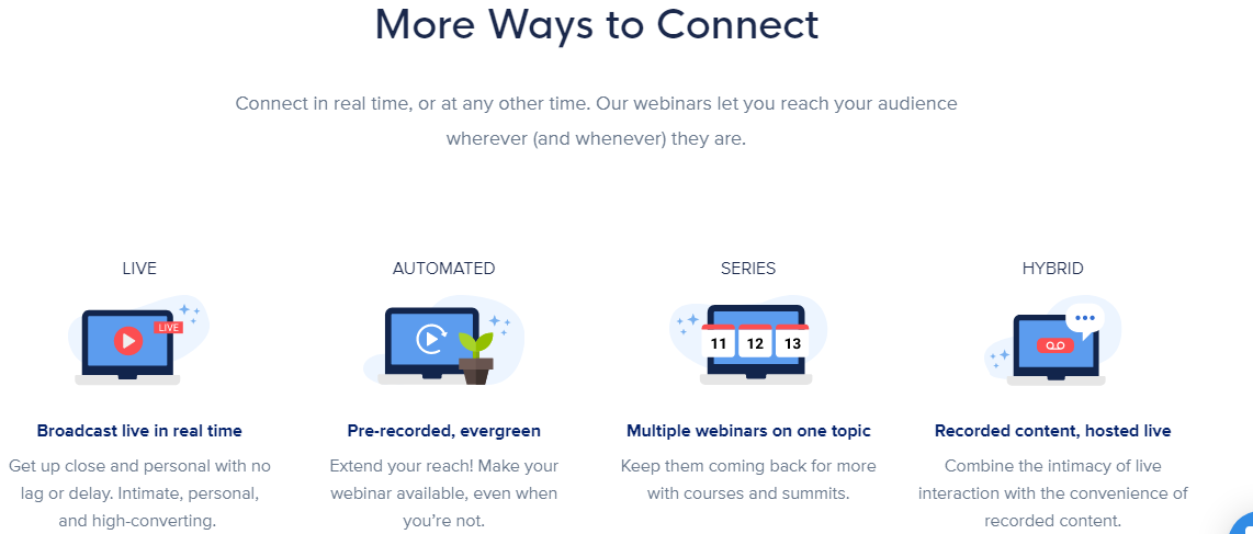 Connect in Real time - Webinar