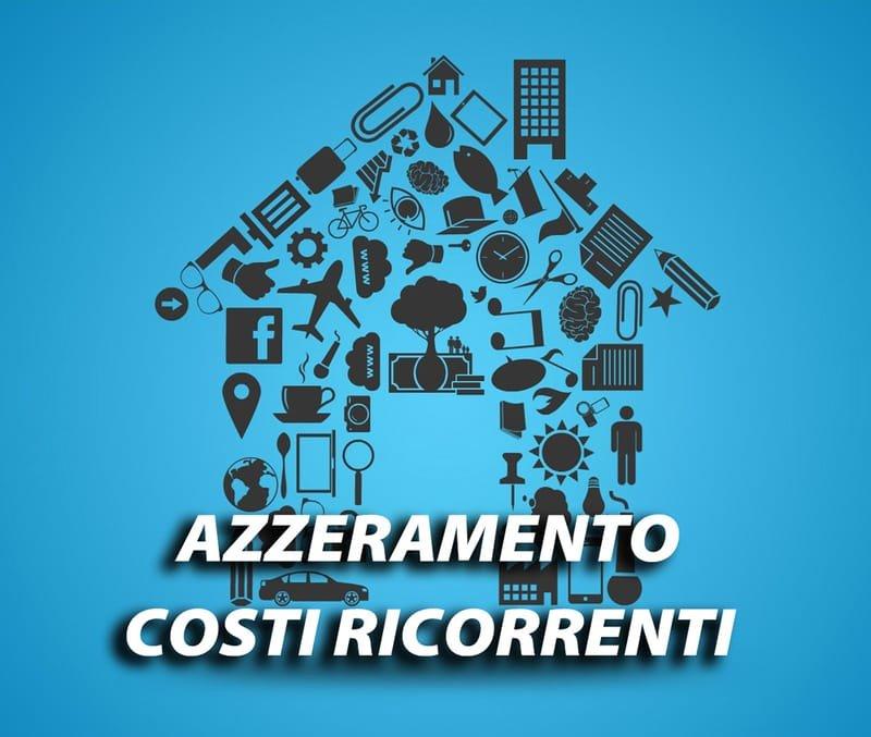 Tabella Azzeramento Costi ricorrenti, bollette, affitti, mutui, noleggi, etc. per 7 anni/84 mesi.