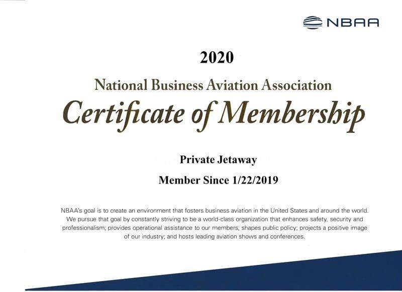 Member (National Business Aviation Association)