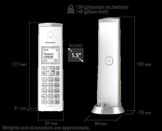 Telefono KX-TGK210
